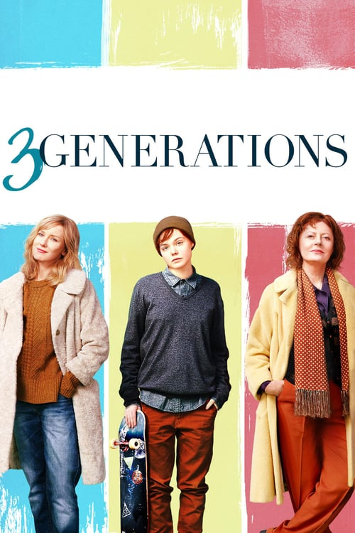 3 Generations - Movie Poster