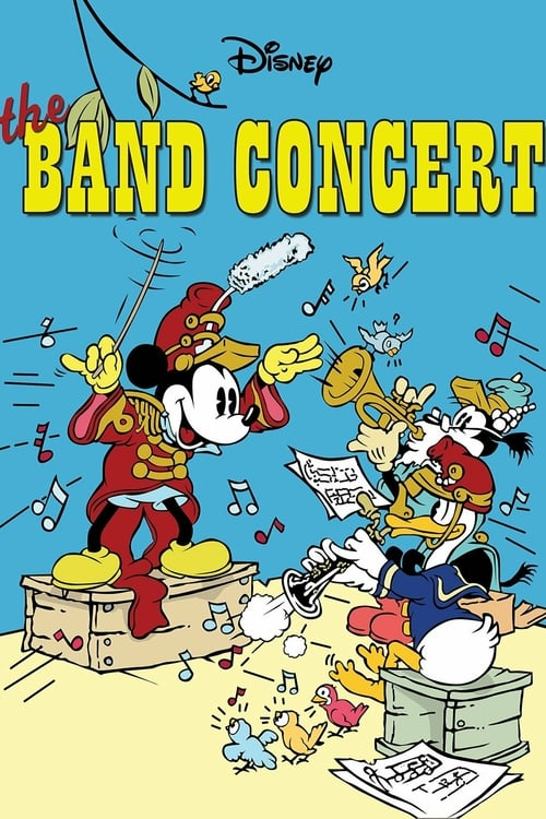 The Band Concert - Movie Poster