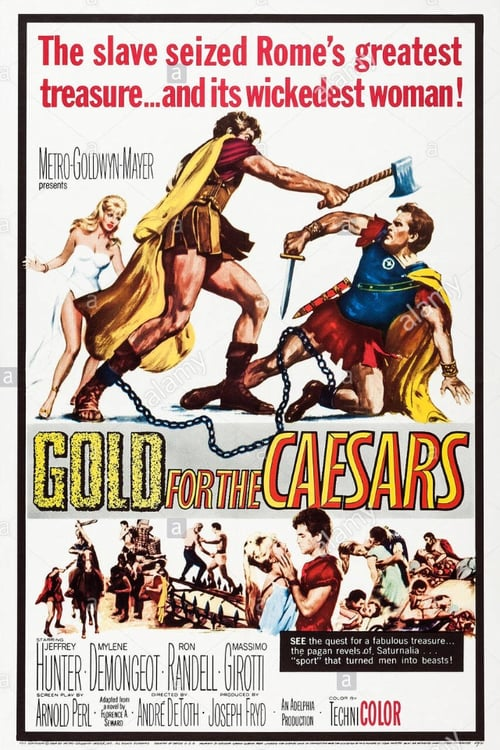 Gold for the Caesars - Movie Poster