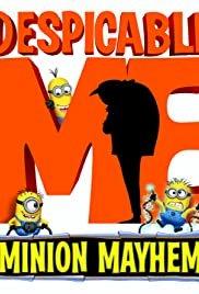 Despicable Me: Minion Mayhem 3D - Movie Poster