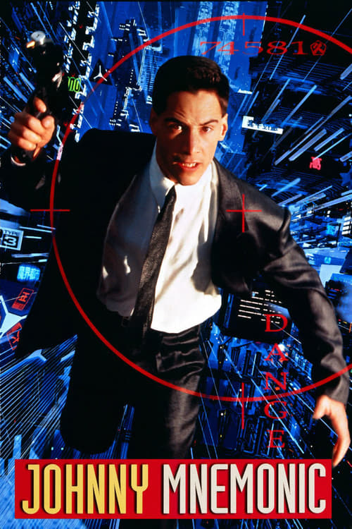 Johnny Mnemonic - Movie Poster