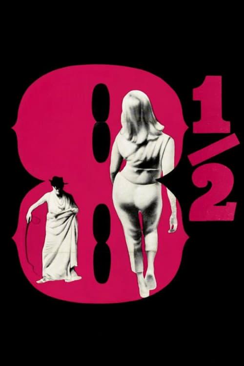 8½ - Movie Poster