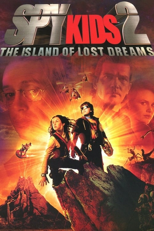 Spy Kids 2: The Island of Lost Dreams - Movie Poster