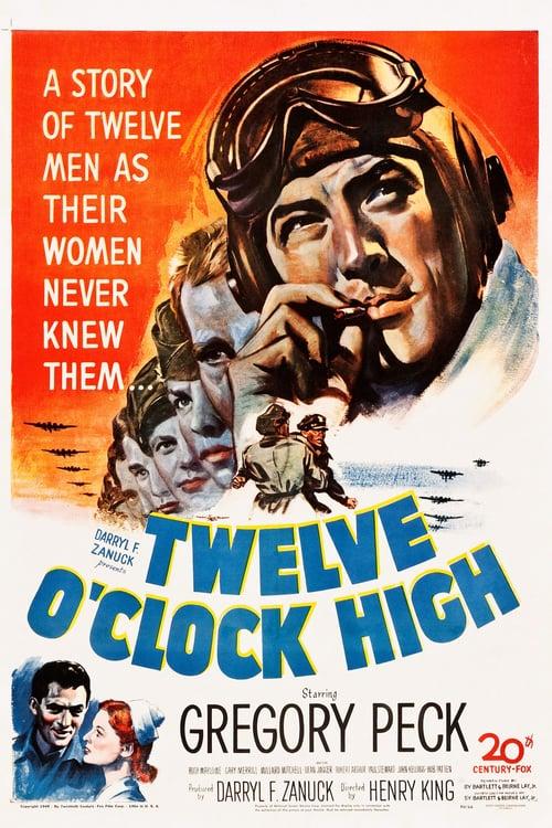 Twelve O'Clock High - Movie Poster
