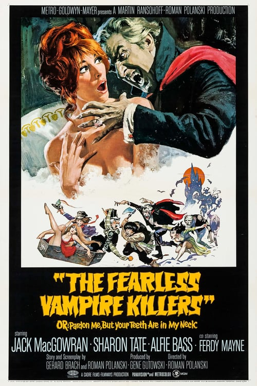 The Fearless Vampire Killers - Movie Poster
