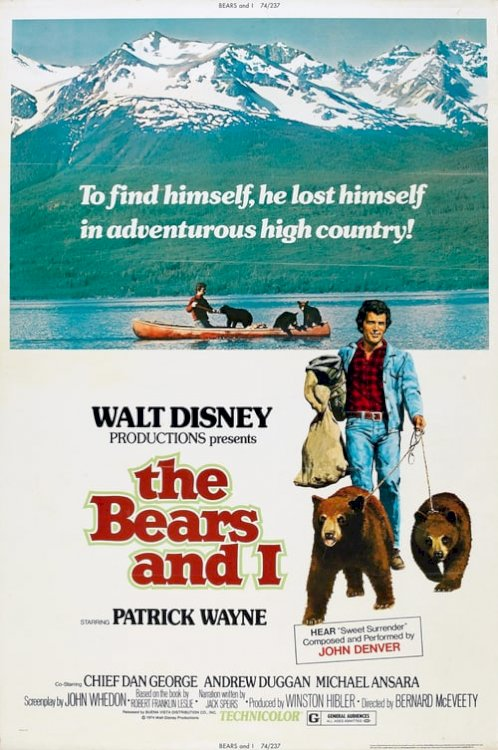 The Bears and I - Movie Poster