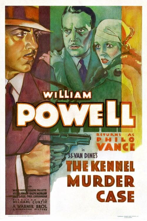 The Kennel Murder Case - Movie Poster