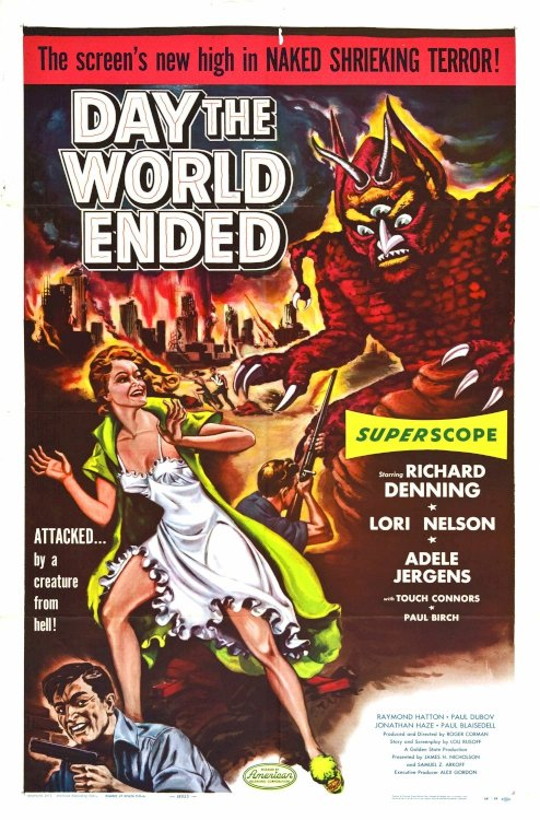Day the World Ended - Movie Poster
