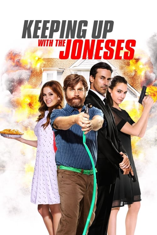 Keeping Up with the Joneses - Movie Poster