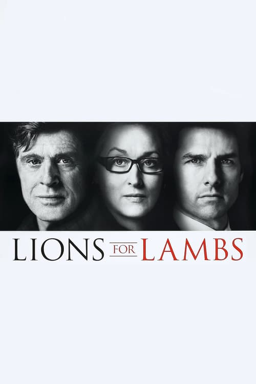 Lions for Lambs - Movie Poster