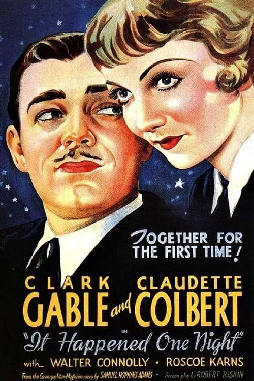 It Happened One Night - Movie Poster