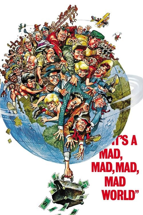 It's a Mad, Mad, Mad, Mad World - Movie Poster