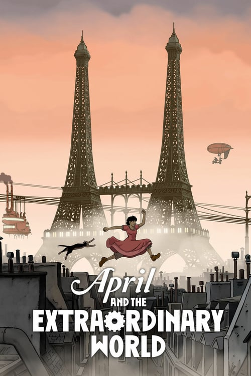 April and the Extraordinary World - Movie Poster