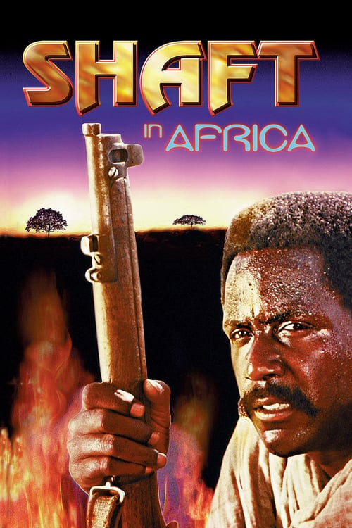 Shaft in Africa - Movie Poster
