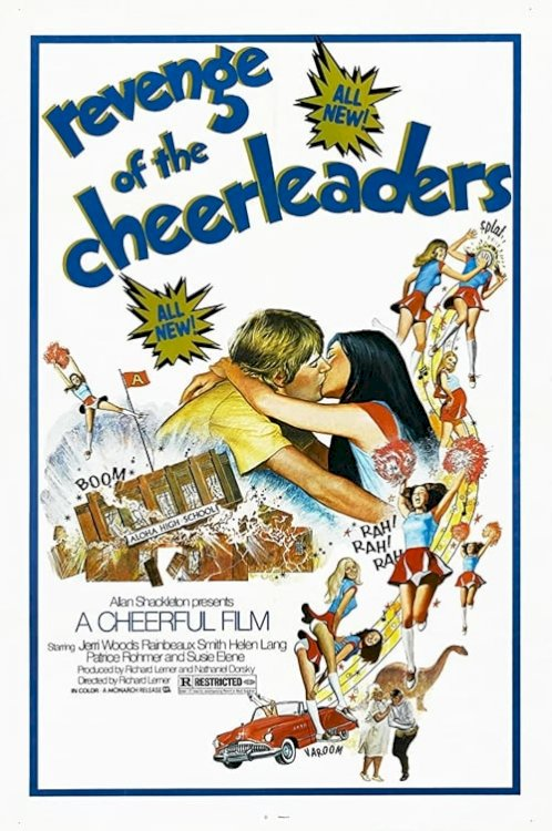Revenge of the Cheerleaders - Movie Poster
