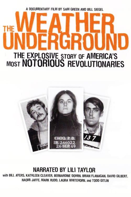 The Weather Underground - Movie Poster