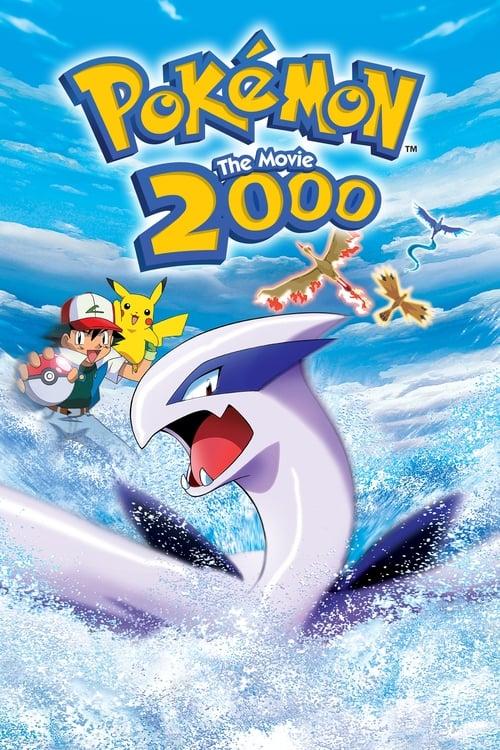 Pokémon: The Movie 2000 - Movie Poster