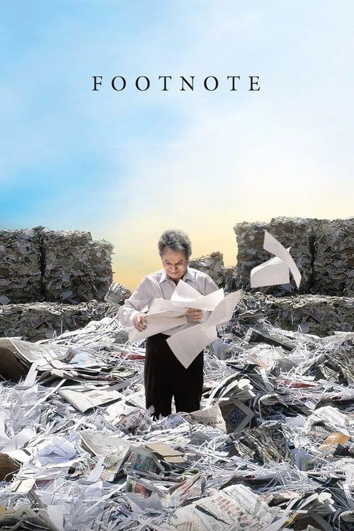 Footnote - Movie Poster