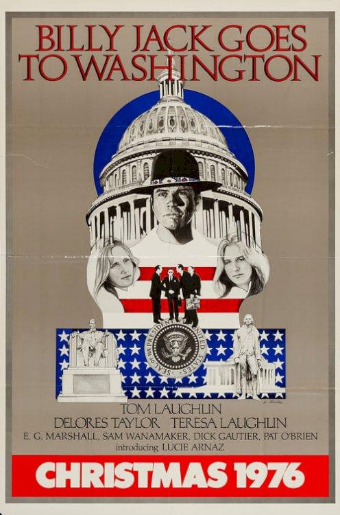 Billy Jack Goes to Washington - Movie Poster