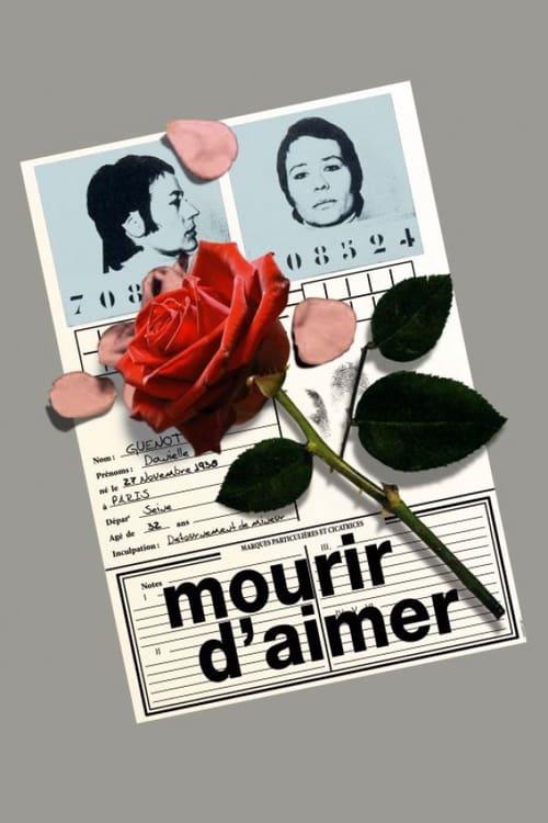 To Die of Love - Movie Poster