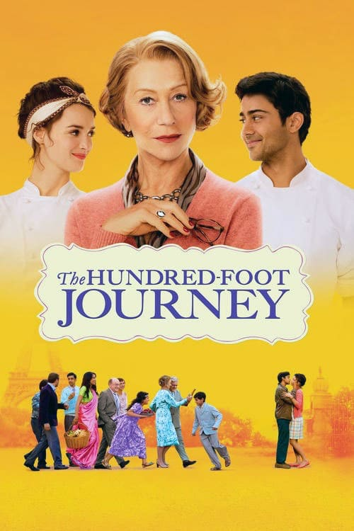 The Hundred-Foot Journey - Movie Poster