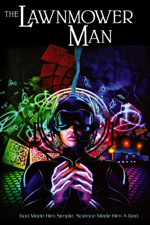 The Lawnmower Man - Movie Poster