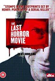 The Last Horror Movie - Movie Poster