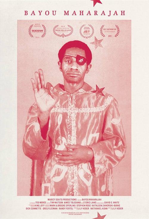 Bayou Maharajah: The Tragic Genius of James Booker - Movie Poster