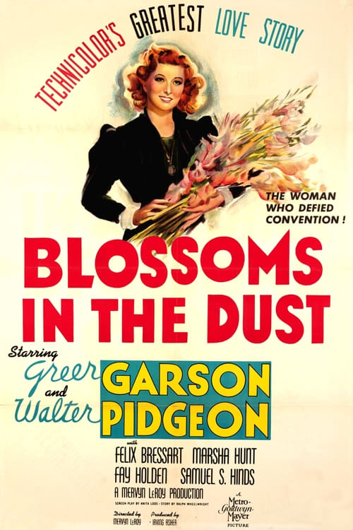 Blossoms in the Dust - Movie Poster