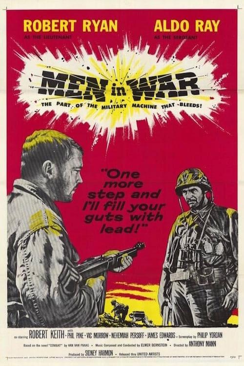 Men in War - Movie Poster