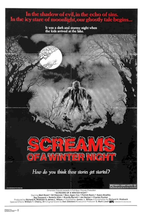 Screams of a Winter Night - Movie Poster