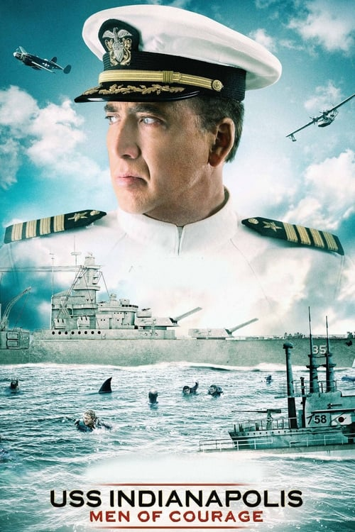 USS Indianapolis: Men of Courage - Movie Poster