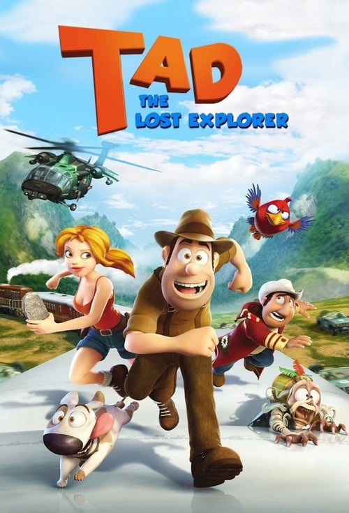 Tad, the Lost Explorer - Movie Poster