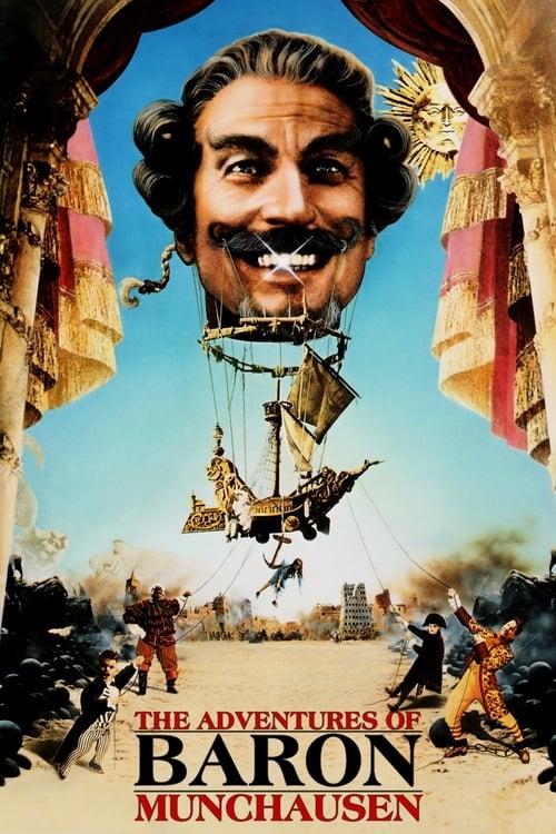The Adventures of Baron Munchausen - Movie Poster