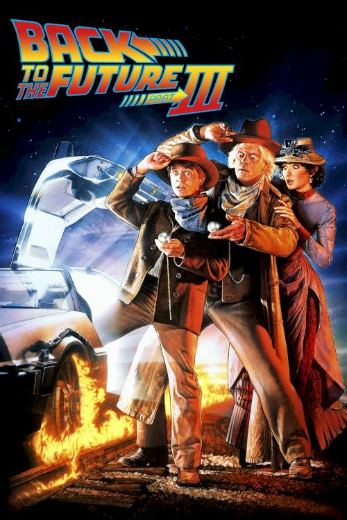 Back to the Future Part III - Movie Poster