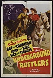 Underground Rustlers - Movie Poster