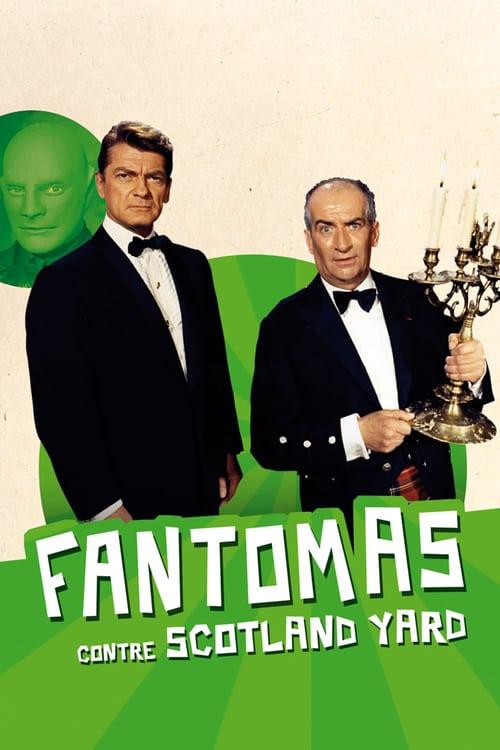 Fantomas vs. Scotland Yard - Movie Poster
