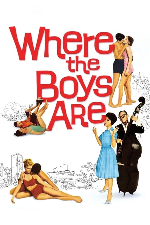 Where the Boys Are - Movie Poster