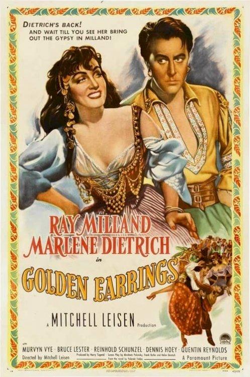 Golden Earrings - Movie Poster