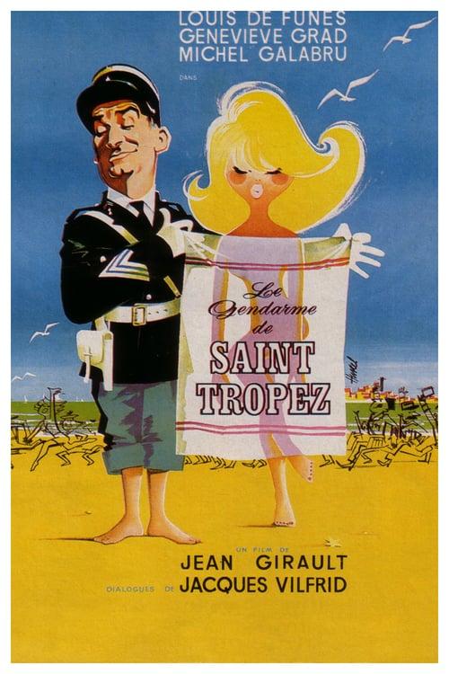 Le Gendarme de Saint-Tropez - Movie Poster