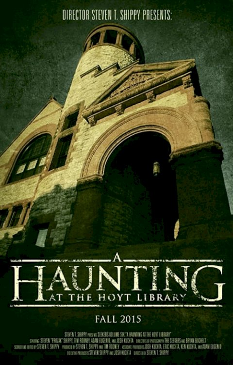 A Haunting at the Hoyt Library - Movie Poster