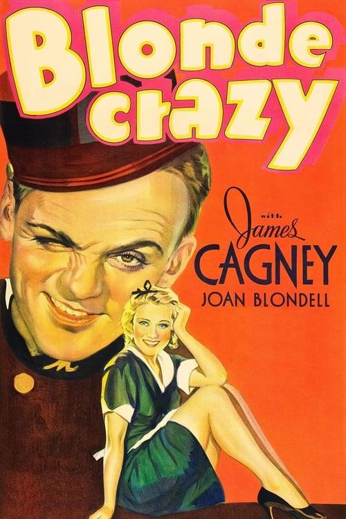 Blonde Crazy - Movie Poster