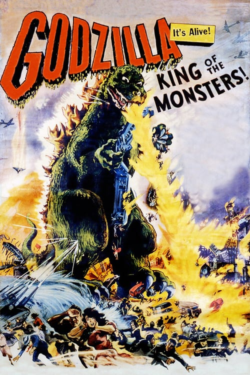 Godzilla, King of the Monsters! - Movie Poster