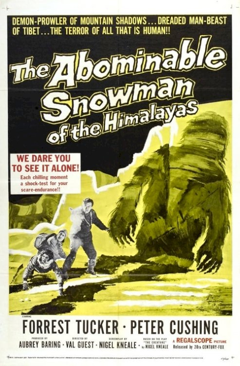 The Abominable Snowman - Movie Poster
