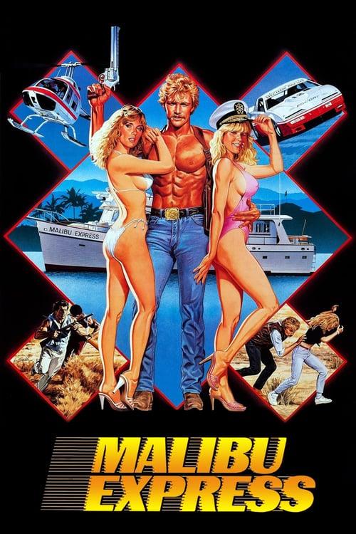 Malibu Express - Movie Poster