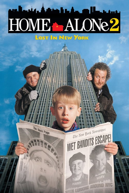 Home Alone 2: Lost in New York - Movie Poster