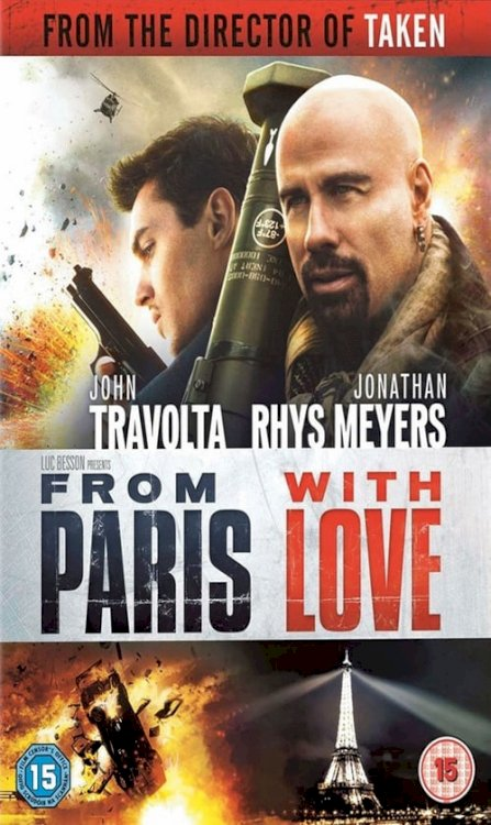 From Paris with Love - Movie Poster