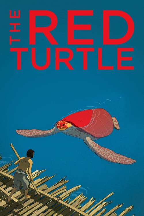 The Red Turtle - Movie Poster