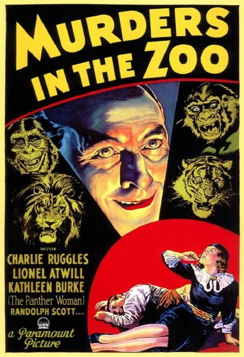 Murders in the Zoo - Movie Poster