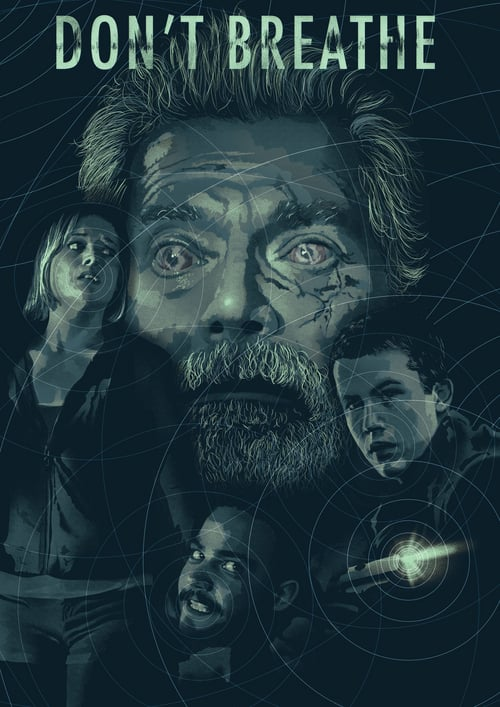 Don't Breathe - Movie Poster